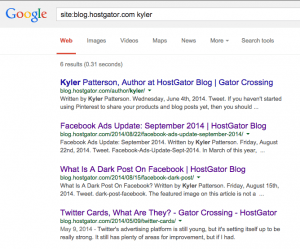Is Google Authorship Dead