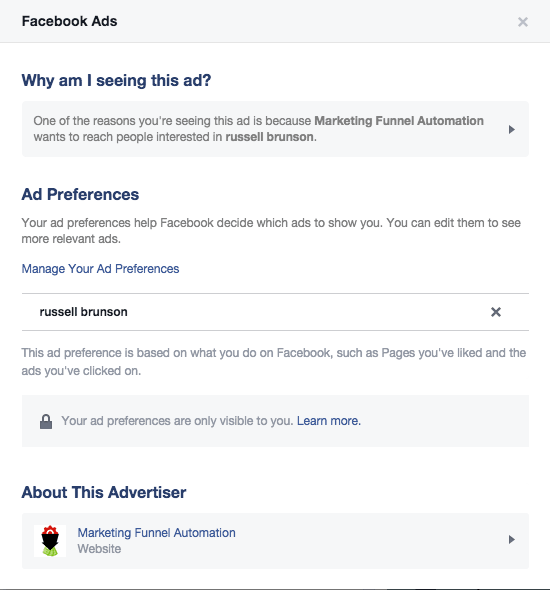 How To Reverse Engineer A Facebook Ad