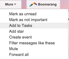 Create A Task in Gmail