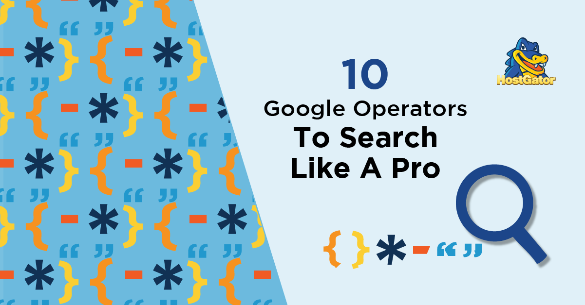 Advanced Search Operators on Google