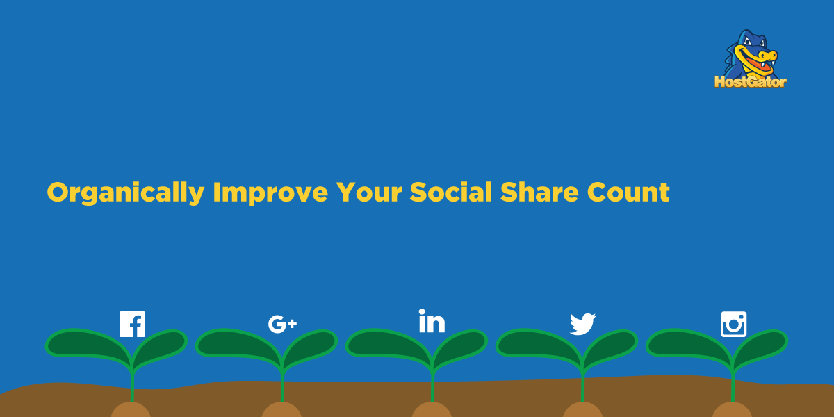 Organically Improve Your Social Share Count