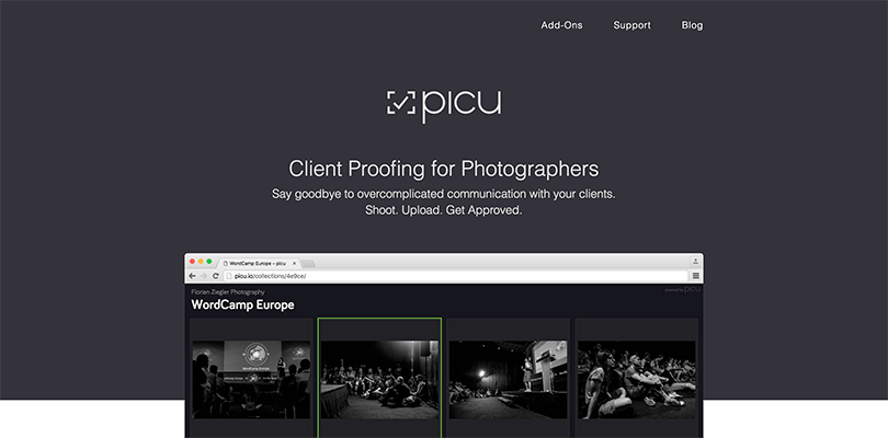 Using Picu For Photographers