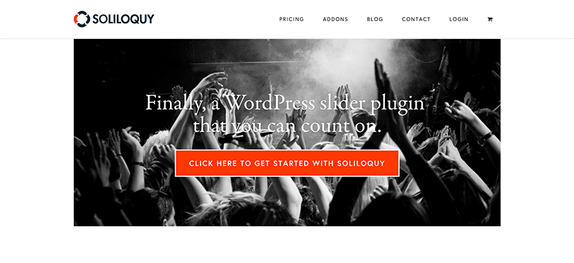 Soliloquy For Photographers on WordPress