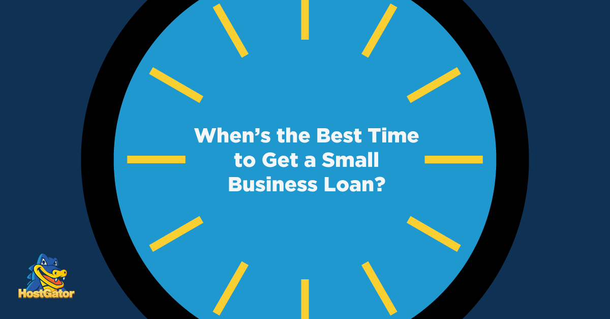 Best Time To Get Small Business Loan