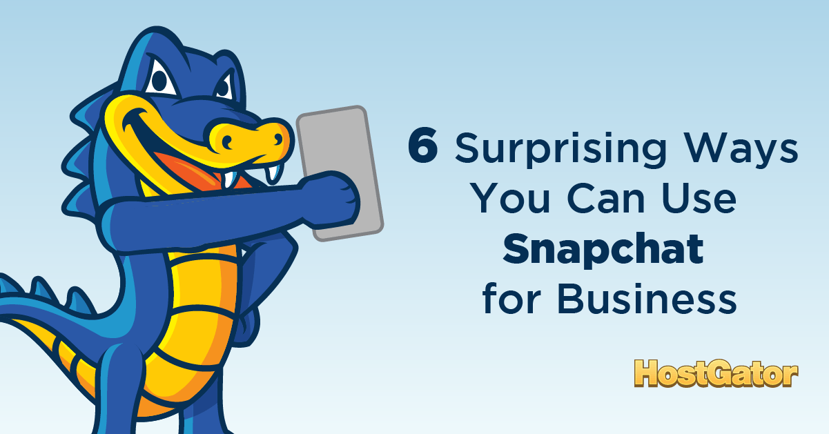 Use Snapchat for Business
