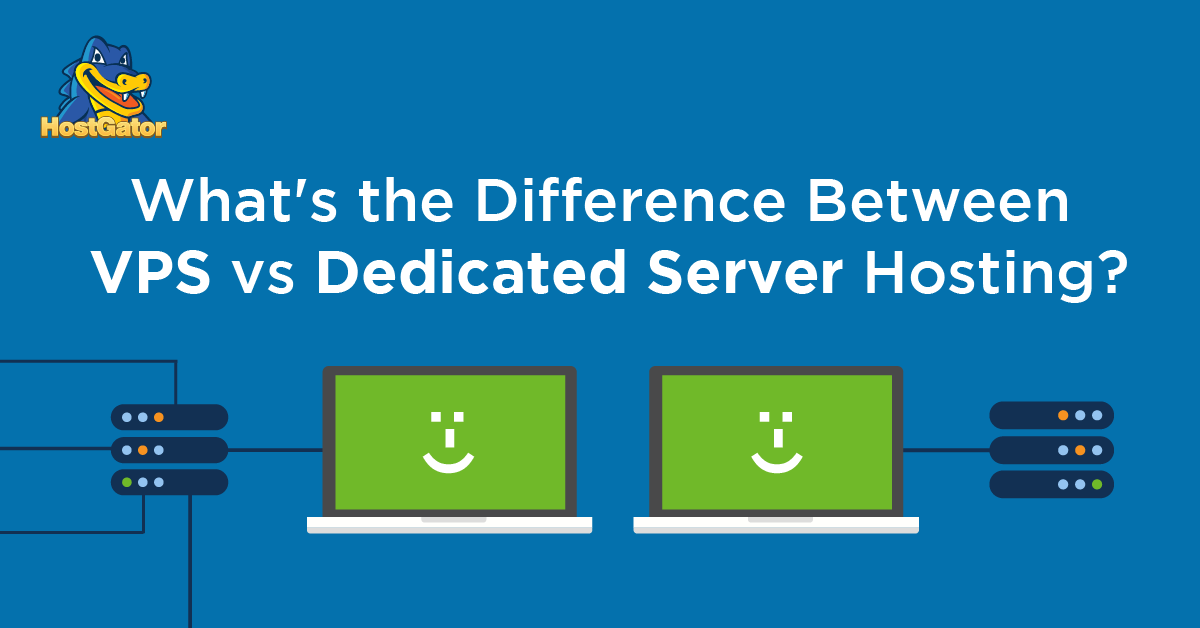 Difference Between VPS vs Dedicated Server