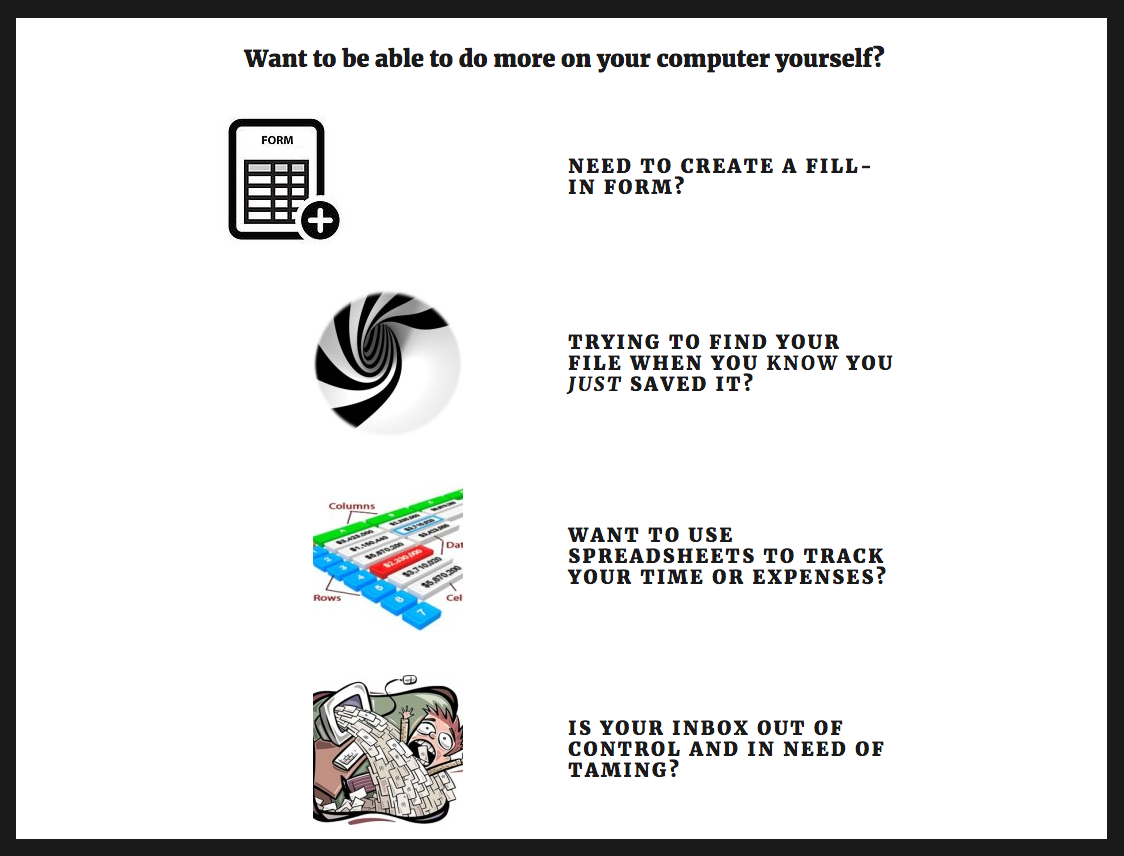 Computer Consulting Website