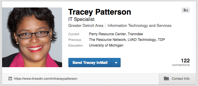 Tracey Patterson