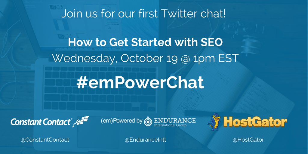 emPowerChat SEO Twitter Chat