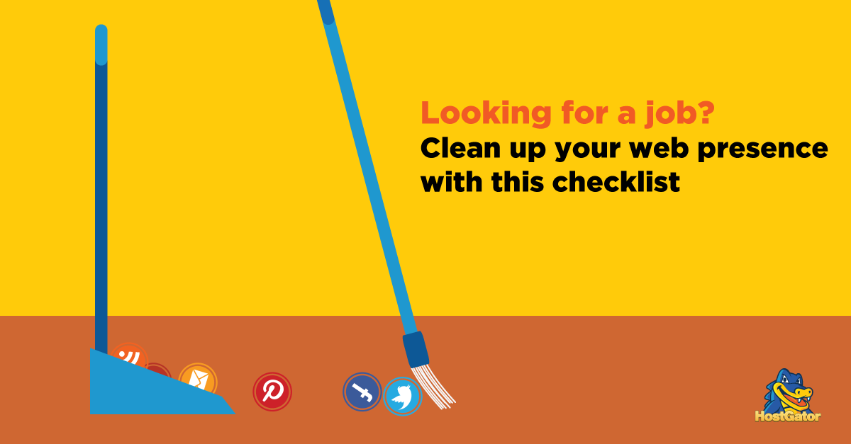Clean up your web presence checklist