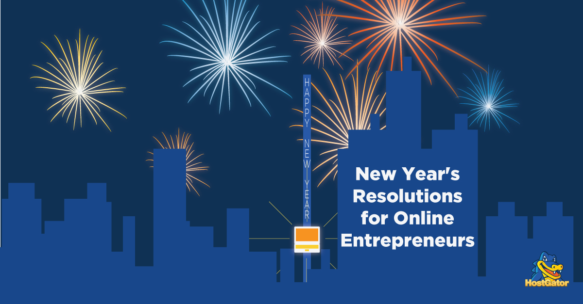 New Year's Resolutions for Online Entrepreneurs