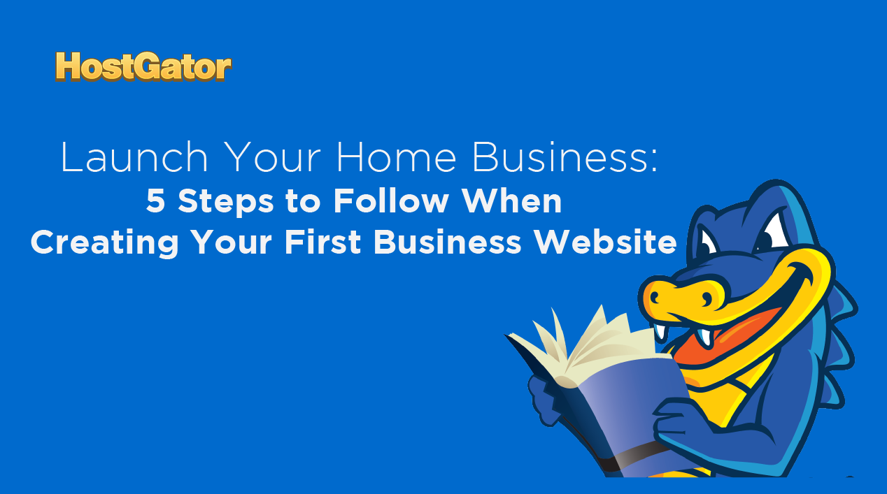 Creating your first business website