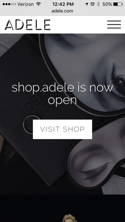 Adele Website