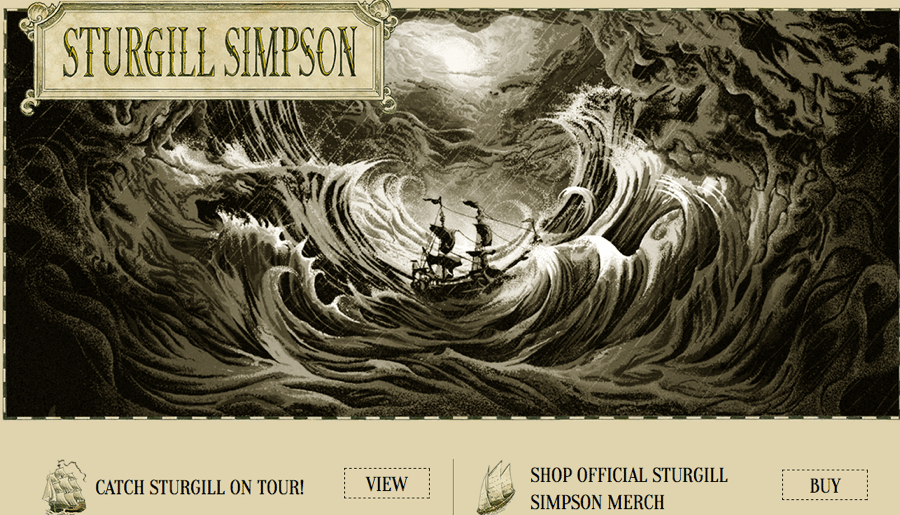 Sturgill Simpson Website