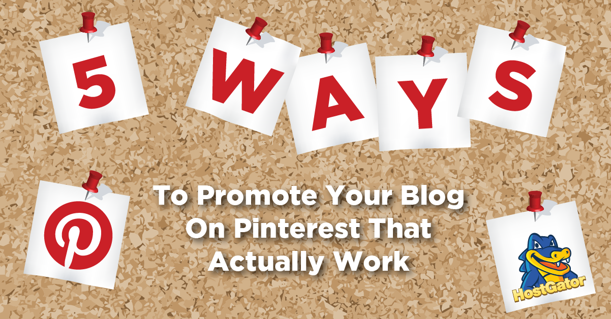 how to post your blog on pinterest