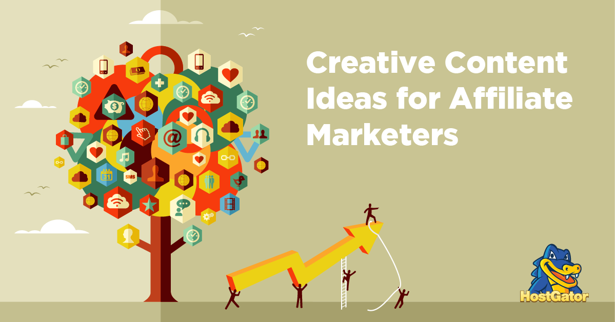 Creative Content Ideas for Affiliate Marketers