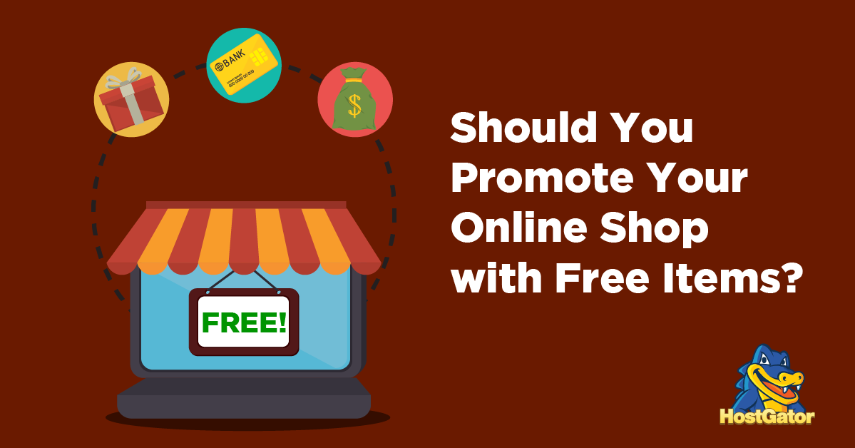Promote Online Shop with Free Items