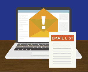 Email list for blogs