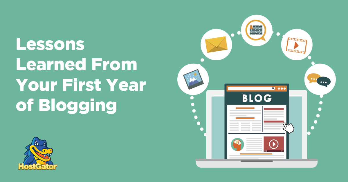 Blogging Lessons from first year of blogging
