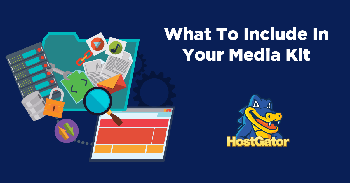 what to include in media kit