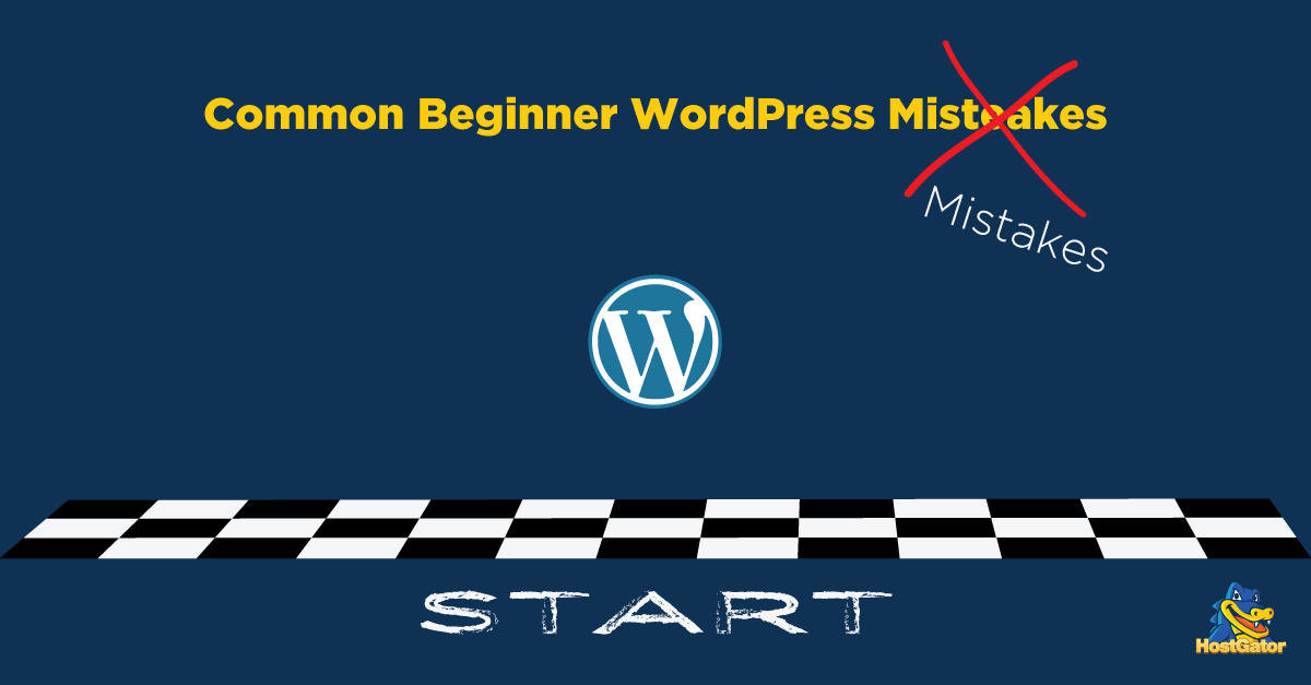 Beginner WordPress Mistakes
