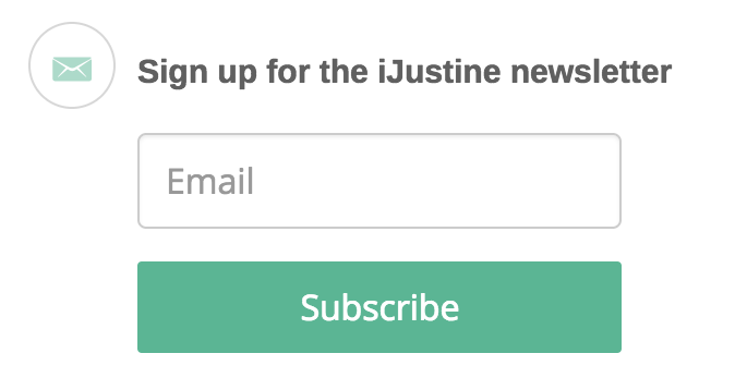 YouTube email newsletter signup