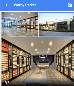 Warby Parker from website to brick and mortar retail stores