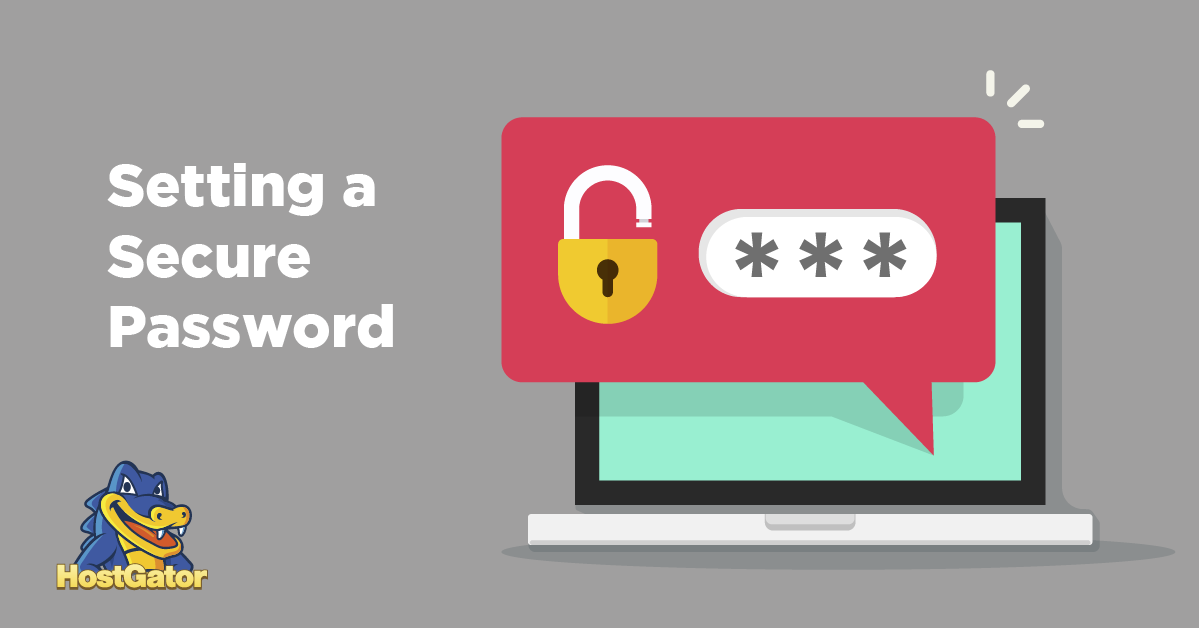 How to Set a Secure Password