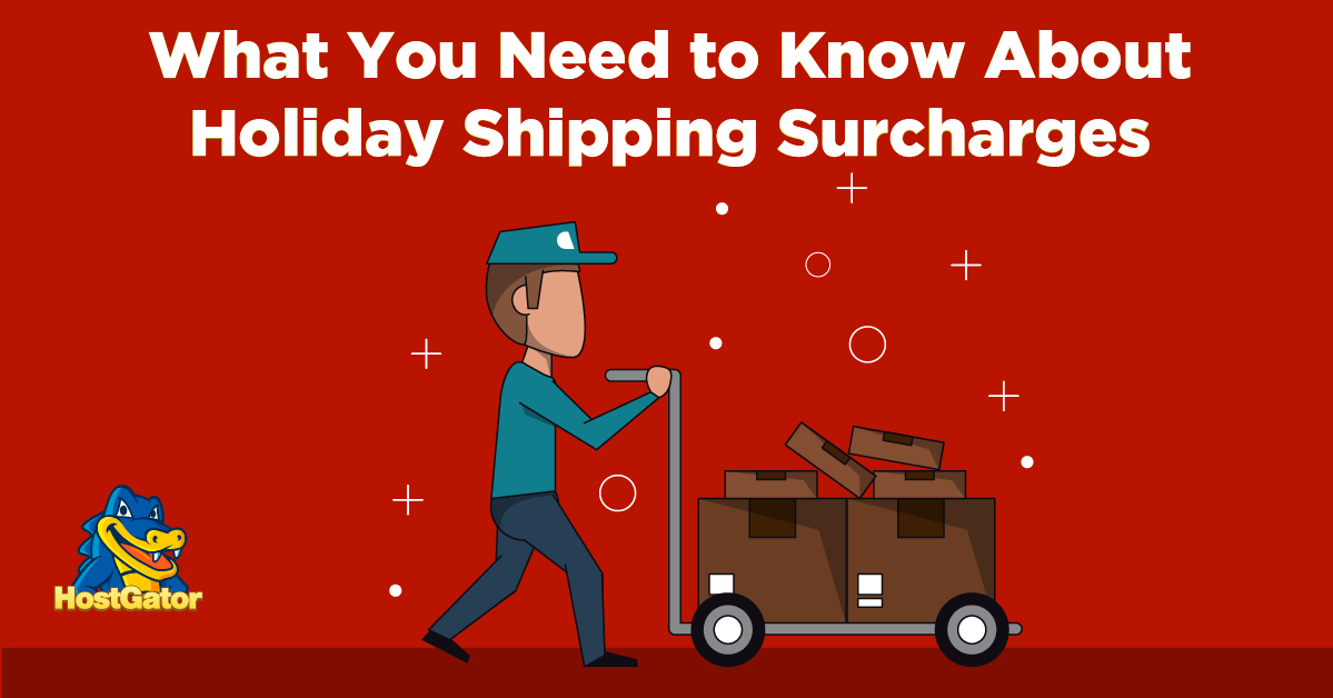 Holiday Shipping Charges for online retailers
