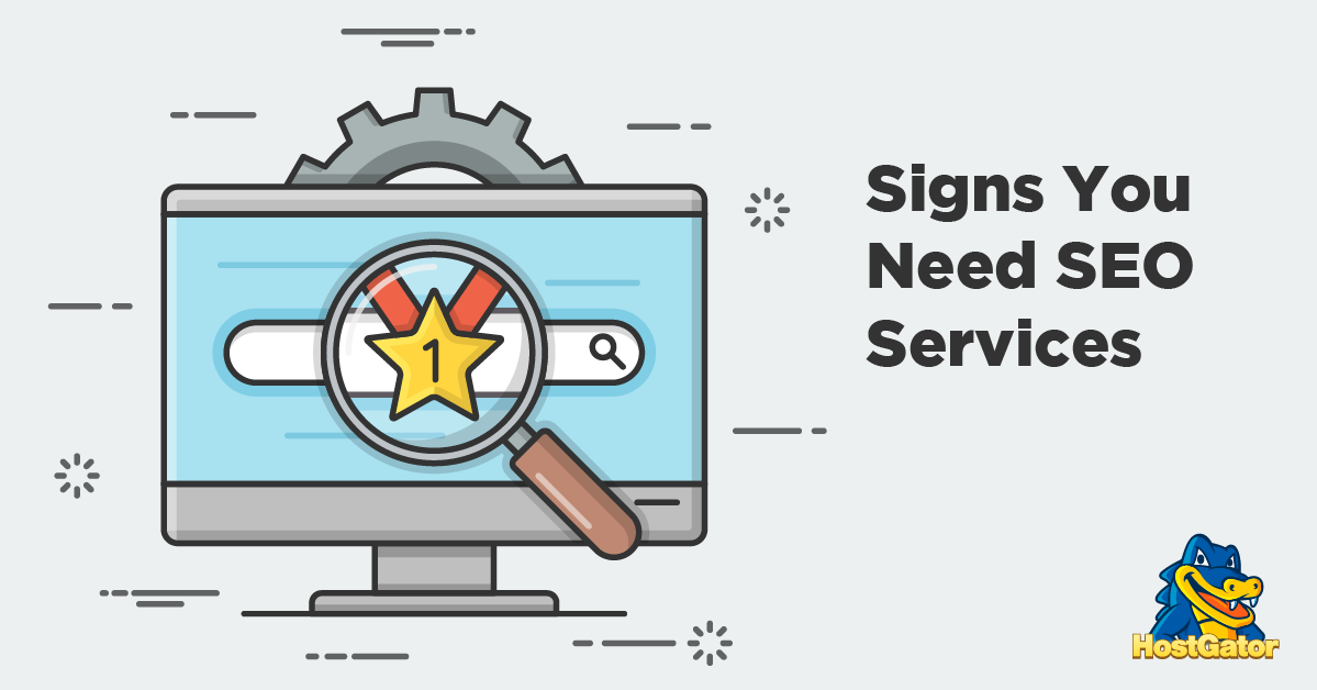 signs you need seo services