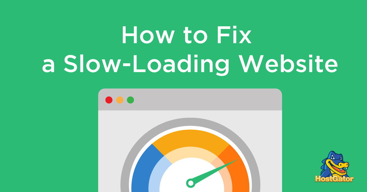 fix slow loading website