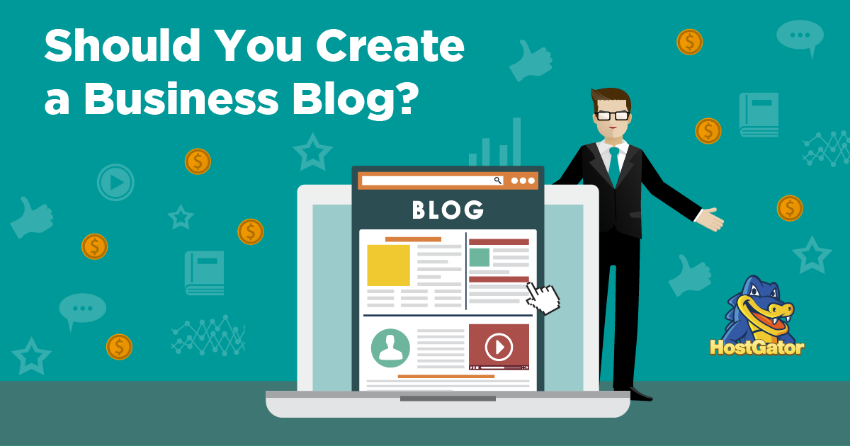 why create business blog
