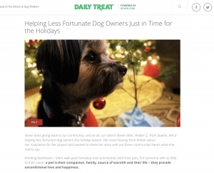 holiday content charitable causes