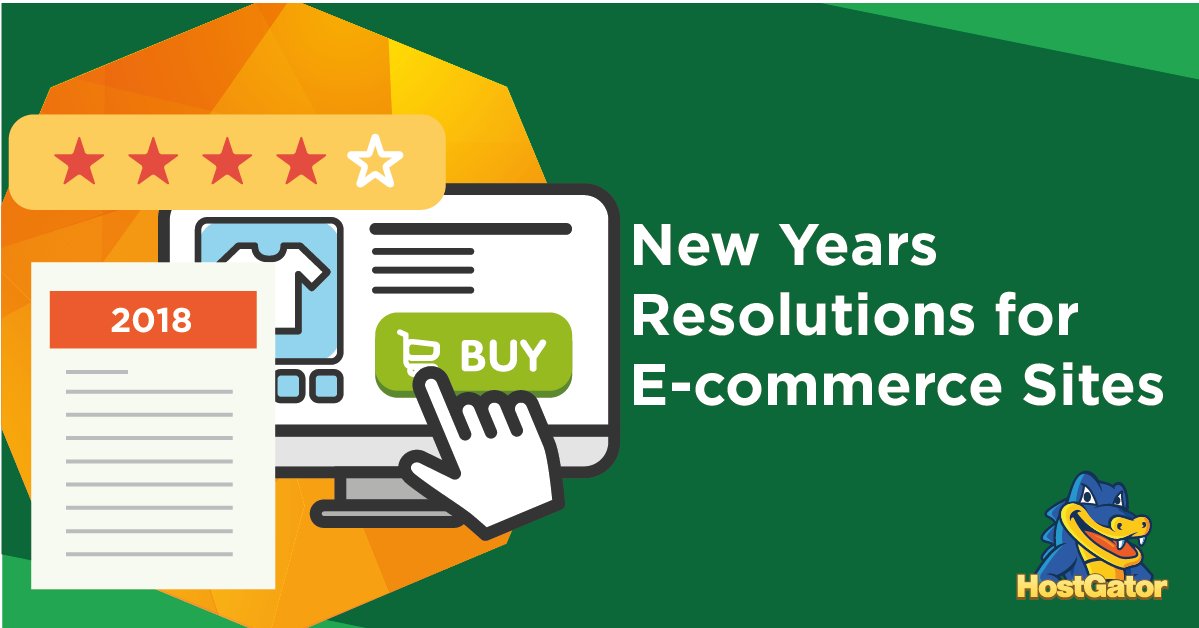 New Year Resolutions Ecommerce