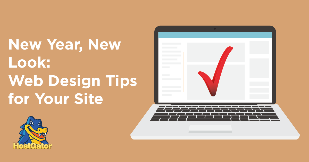 New Year Web Design Tips for Your Site
