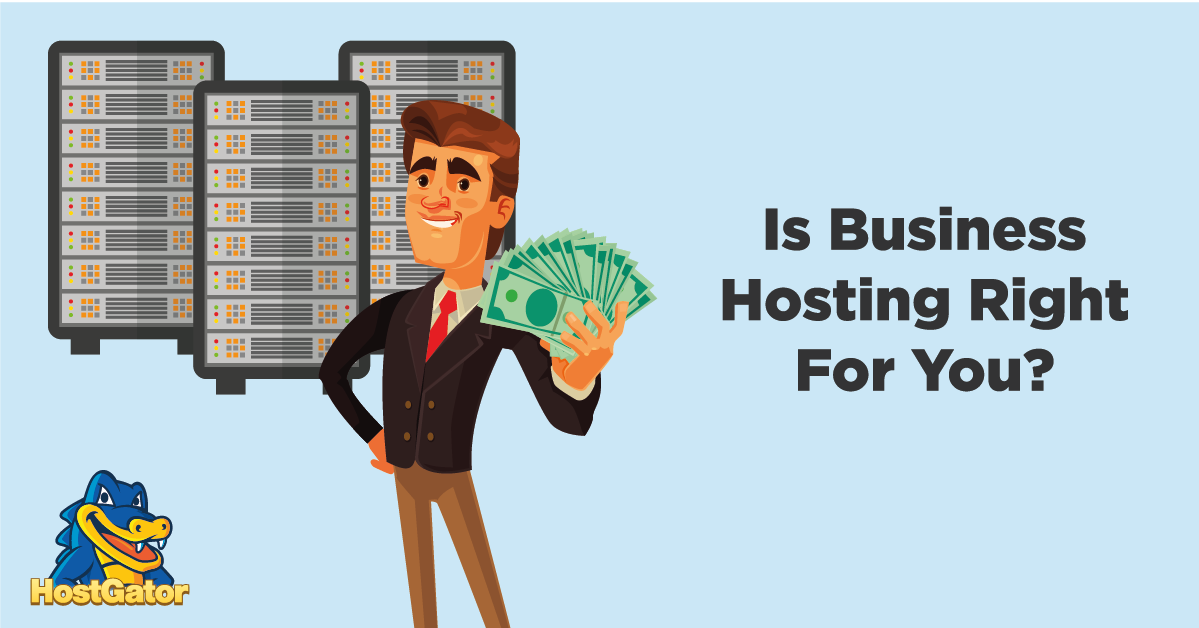 is business hosting right for you