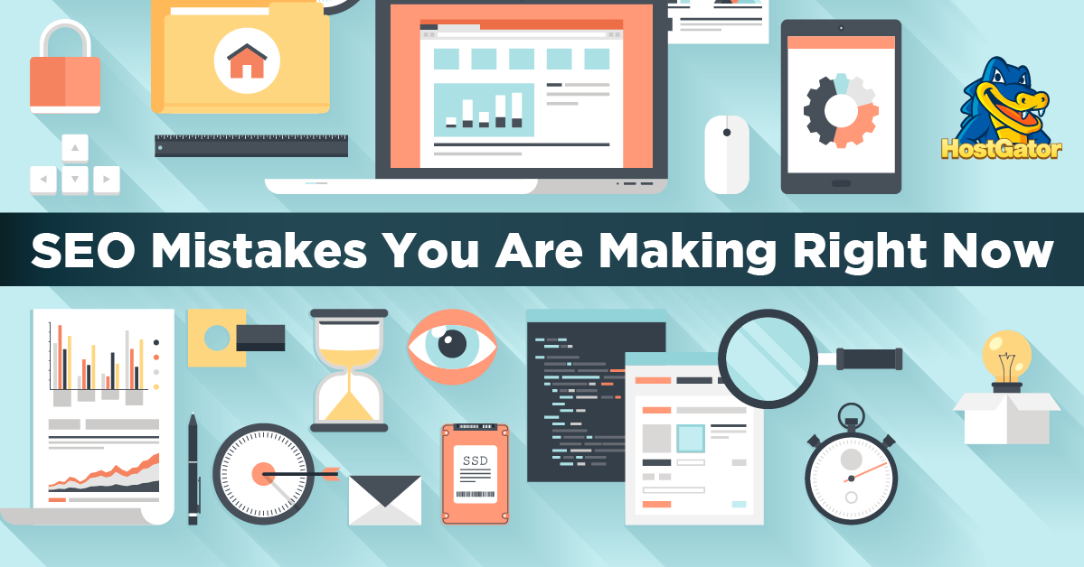 seo mistakes you are making right now