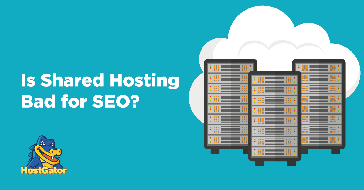 is shared hosting bad for seo