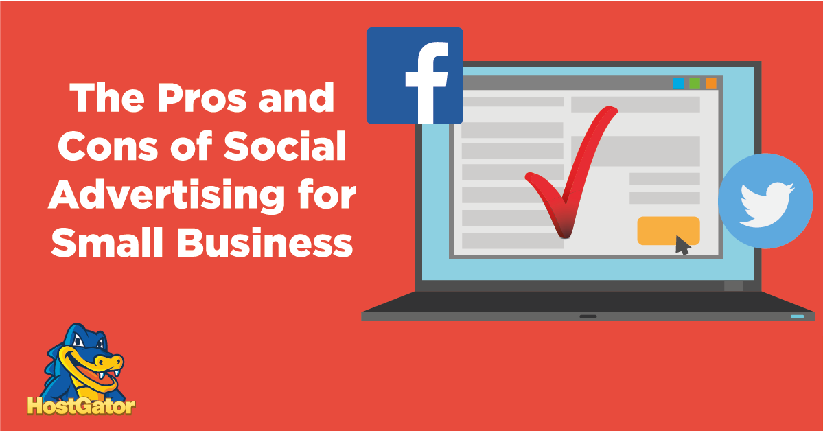 pros and cons of social advertising for small businesses