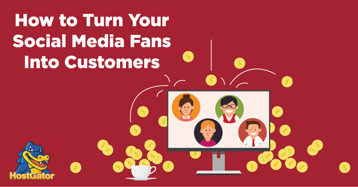 how to turn social media fans into customers