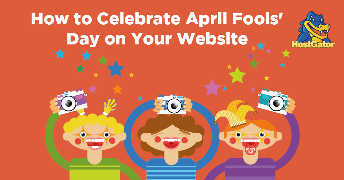 how to celebrate april fools day on your website