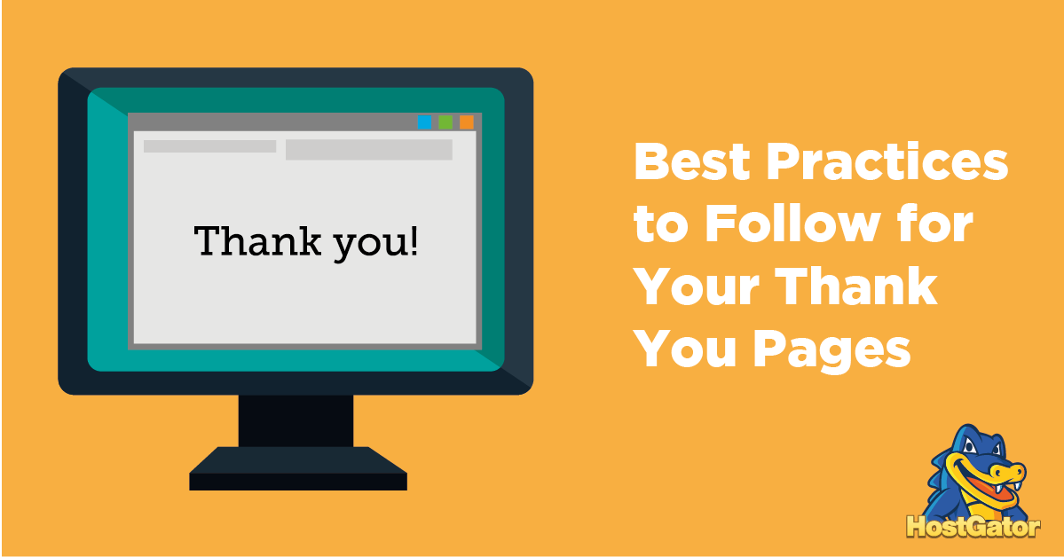 best practices to follow for your thank you pages