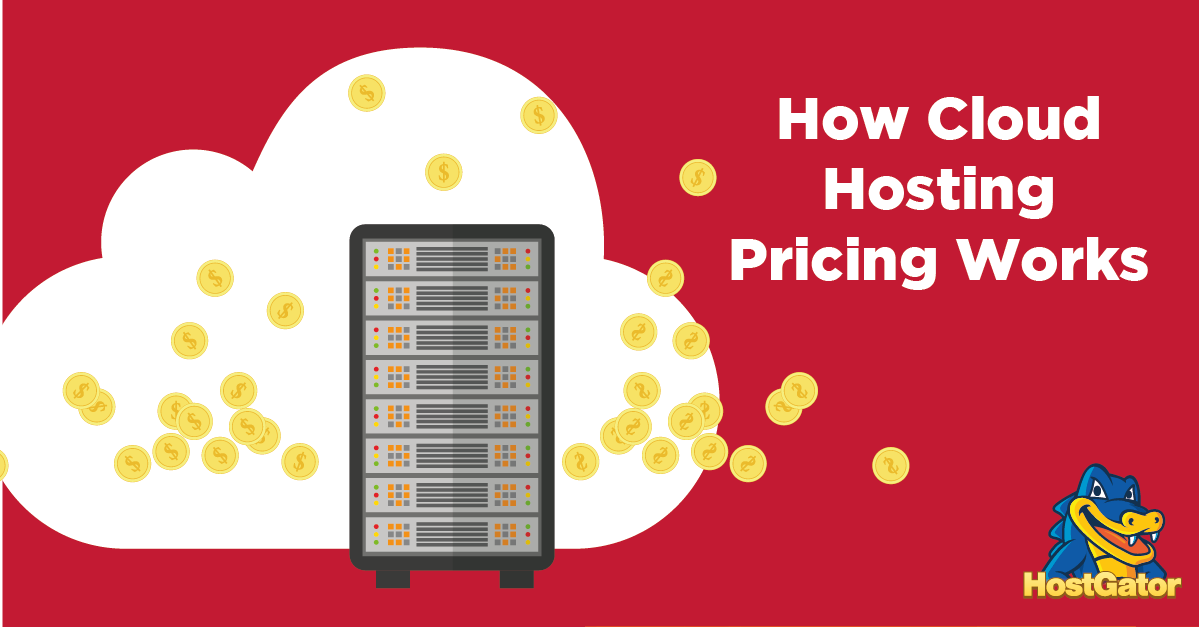 how cloud hosting pricing works