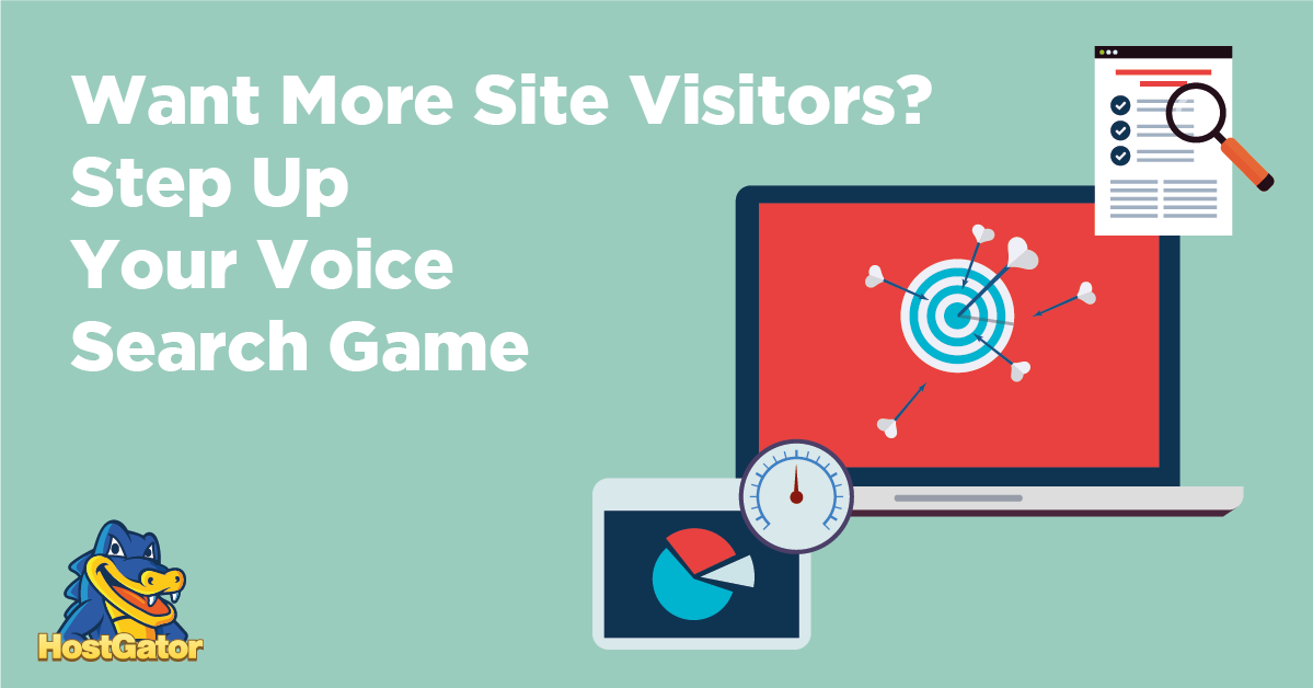 want more site visitors step up your voice search game