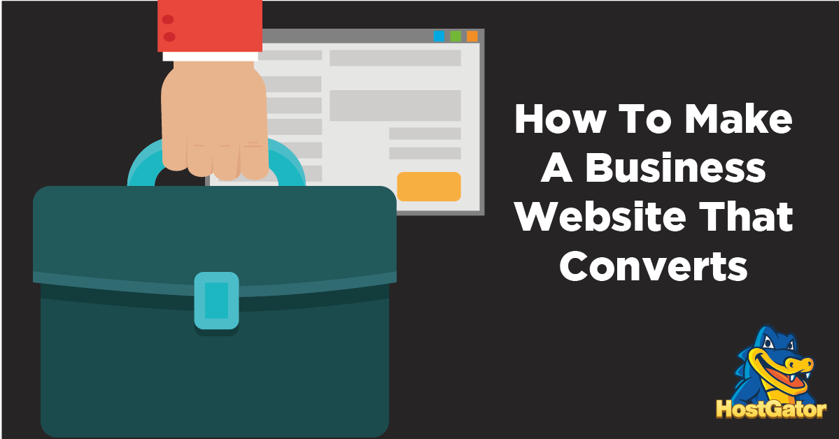 How to Make a Business Website That Converts