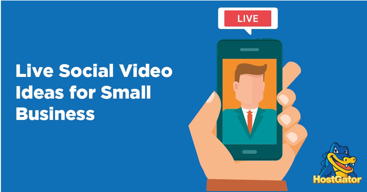 live social video ideas for small business