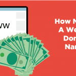 how much is a website domain name