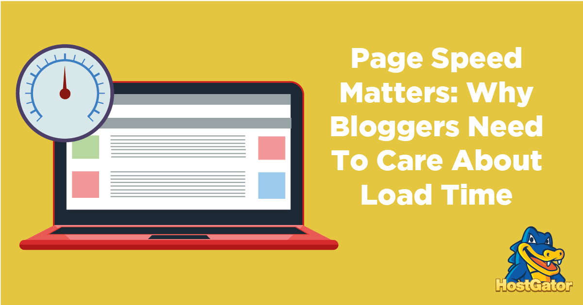 page speed for bloggers