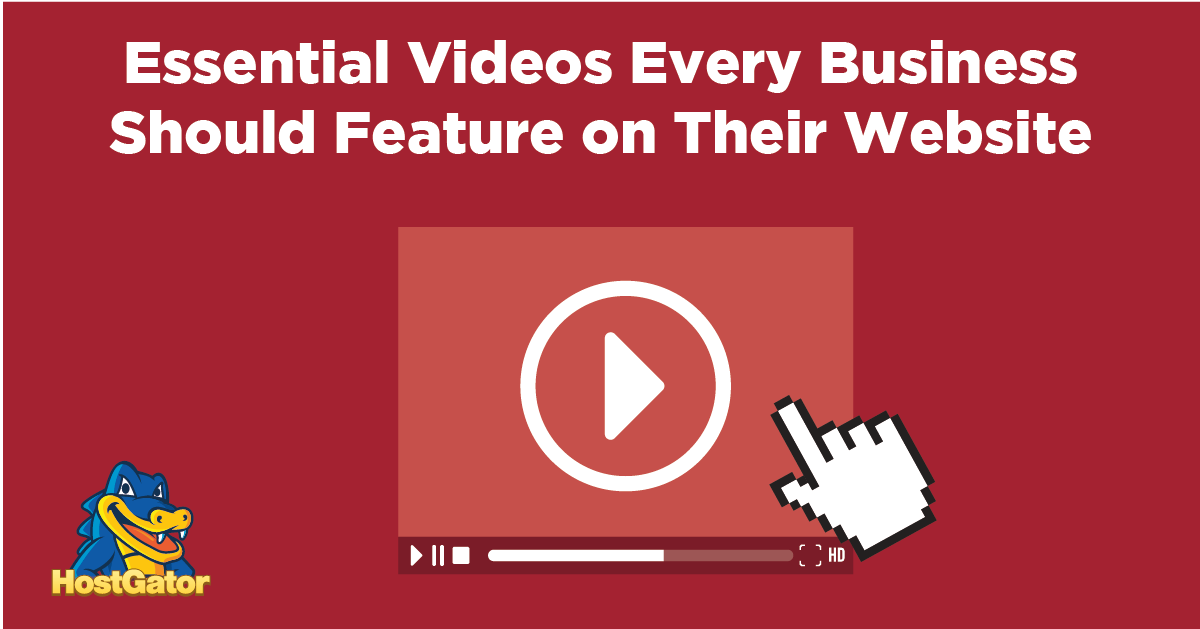 videos to include on your business website