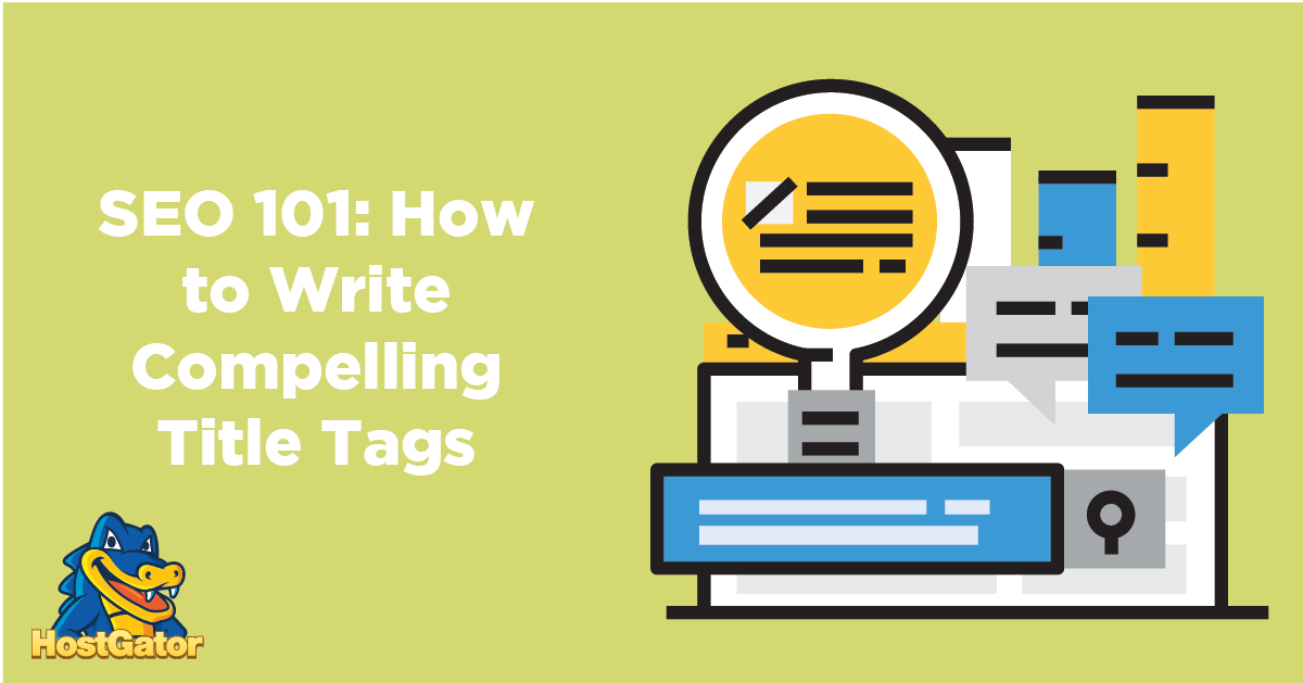 how to write good title tags